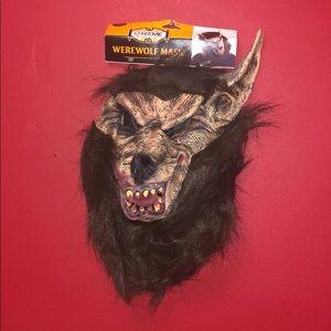 Werewolf Mask Halloween for Mens NWT